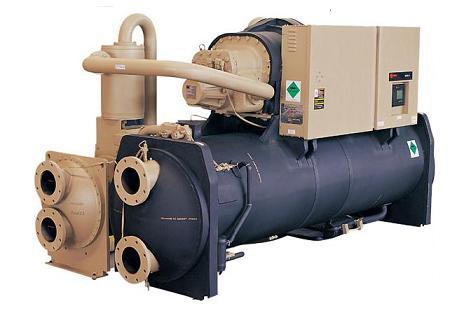 水冷螺杆式冷水机组rthd 中央空调维修保养,中央空调图片